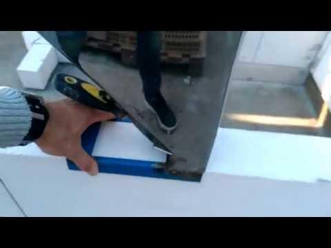 DIY steypuhræra - ljósmynd og teikning