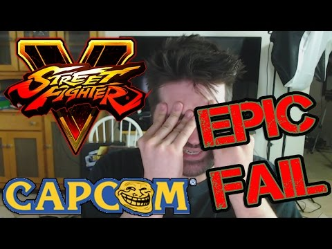 Street Fighter V & Capcom's Copyright Claims - Angry Rant