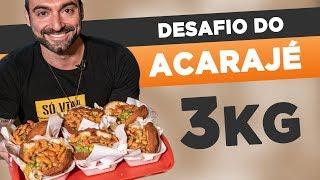 7 pound brazilian acaraje!!