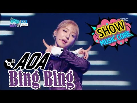 [Comeback Stage] AOA - Bing Bing, 에이오에이 - 빙빙 Show Music core 20170107 thumbnail