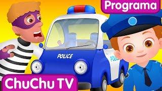 ChuChu TV Ovos Surpresa da Polícia - Episódio 05 - O Ataque Fantasma | ChuChu TV