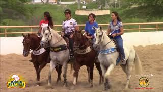 Disputa Final Categoria Feminina 2 Etapa do Circuito Santos de vaquejada-Parque Araguaia 2018