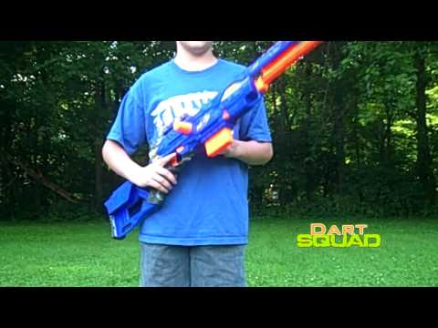 Nerf Longstrike CS-6: Review & Firing Test