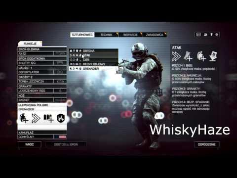 Bf4 Najlepszy Setup szturmowca w całej grze WhiskyHaze