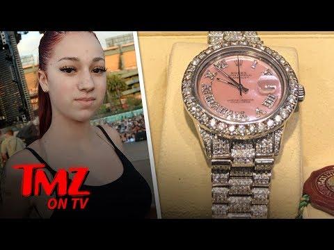 Danielle Bregoli Gifted A $42K Rolex For Her 16th Birthday | TMZ TV thumbnail