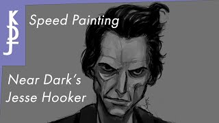 Speed Painting: Near Dark - Jesse Hooker