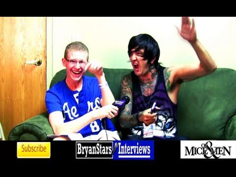 Of Mice & Men Interview #2 Austin Carlile Warped Tour 2011 Music Videos