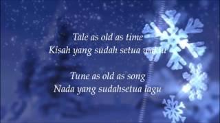 Beauty and the Beast - Ariana Grande ft John Legend - Lyric Indonesia
