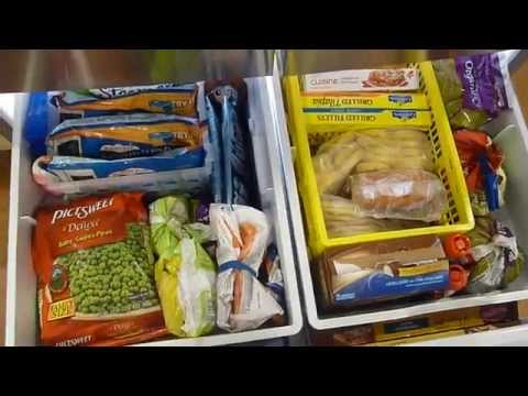 Freezer Organization & MONEY SAVING TIPS!