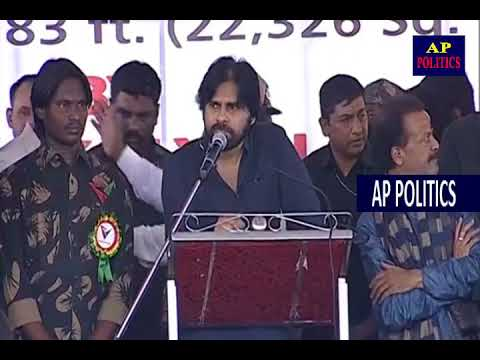 JanaSena Chief Pawan Kalyan Speech and Unfurls the World's Largest Indian National Flag AP Politics