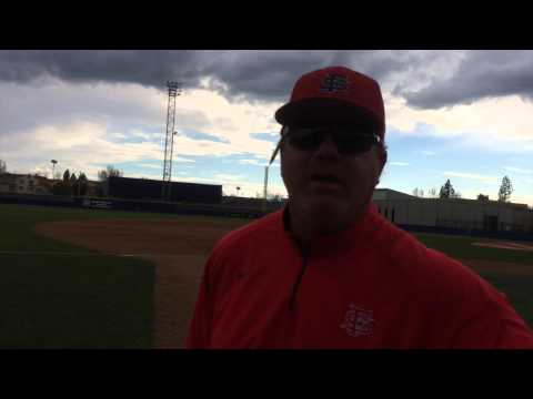 Fresno State baseball post interviews after sweeping UNLV