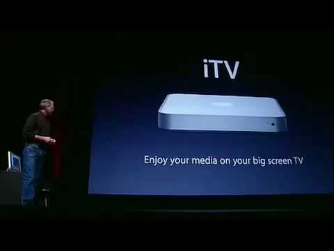 Apple Showtime Event 2006-The iTV Introduction (Pt.1)