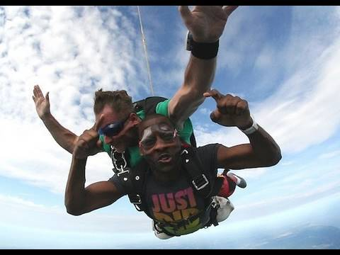 SKYDIVING RAP!