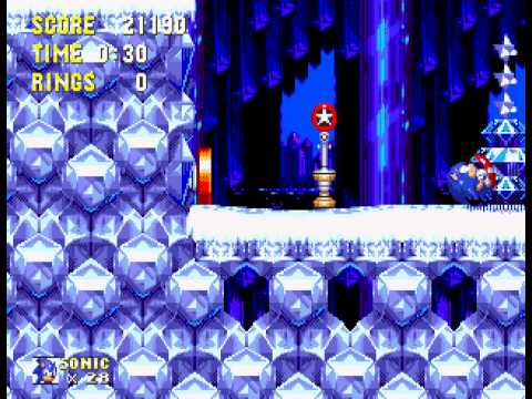 Sonic and Knuckles & Sonic 3 - Hyper Sonic Gameplay - User video