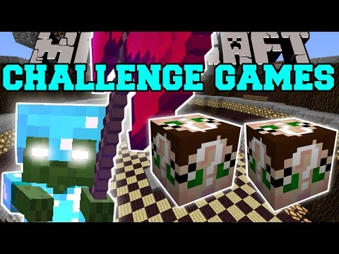 Minecraft: BABY BOB CHALLENGE GAMES - Lucky Block Mod - Modded Mini-Game