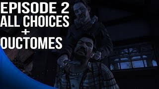 The Walking Dead Game Season 2 Episode 2 - All Choices/ Alternative Choices