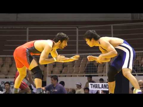 Freestyle Wrestling - Iran Defeats Japan