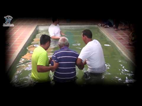 BAUTIZOS COMUNIDAD CRISTIANA FE EN ACCIÓN 2014