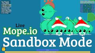 Mope.io Live XXXVIII: Sandbox for Teddy Bear Mod Pack! A Quick Stream