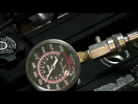 Compression Test Gauge Perform a Compression Test