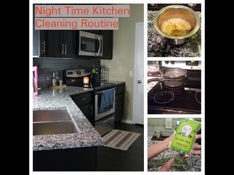 Night Time Kitchen Cleaning Routine||Junnu Recipe In Telugu||Joy Of Being A Homemaker