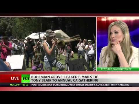Guccifer emails link Tony Blair to top-secret Bohemian Grove gathering