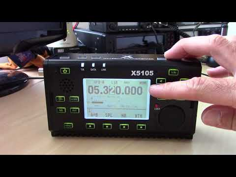 Xiegu X5105 NEW QRP Portable HF Radio Complete Review And Demo HF/6m