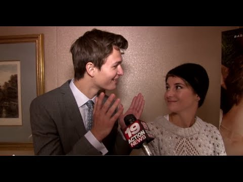 Shailene Woodley & Ansel Elgort on The Fault In Our Stars, a deleted scene, weird fetishes, more