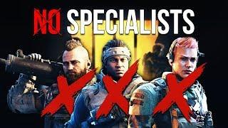 No Specialists Playlist (Black Ops 4 Idea)