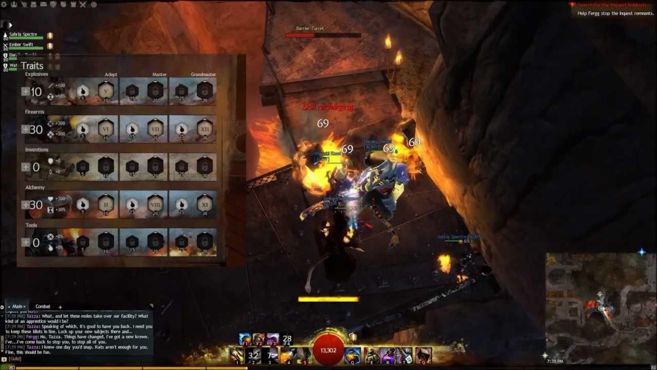 Guild Wars 2 PvE Engineer Damage Build - YouTube
