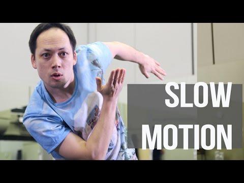 SLOW MOTION: как делать / Уроки танцев robot dance, popping, dubstep обучение