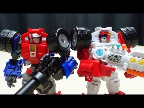 Maketoys TRASH TALK & COGWHEEL (Swerve & Gears): EmGo's Transformers Reviews N' Stuff
