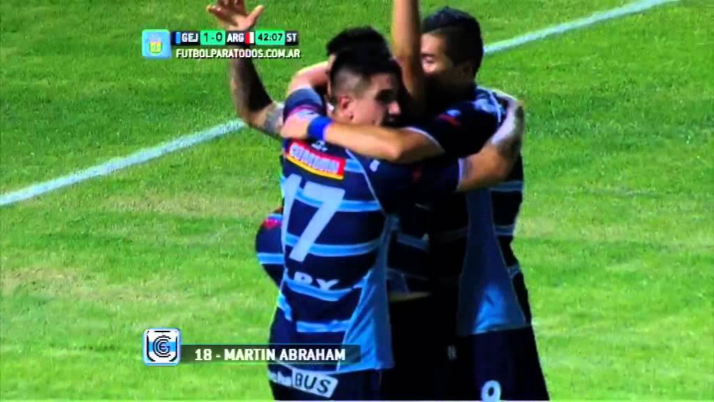 Gimnasia Jujuy 1-0 Argentinos juniors