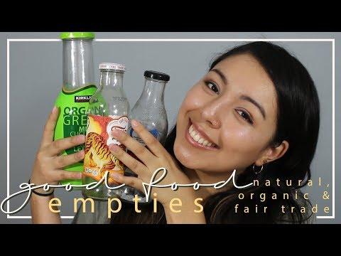 Good Food Empties & Mini Reviews   My Favorite Organic Drinks (Part 1)