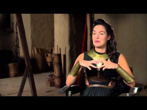 Lena Headey (Лина Хиди) Interview 300: Rise of an Empire (русские субтитры)