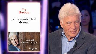 Guy Bedos On N 39 Est Pas Couché 12 Septembre 2015 Onpc