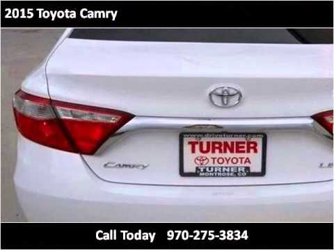 2015 Toyota Camry New Cars Montrose CO