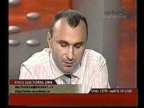 20.10.2004 - Traian Basescu - candidat la Presedintia Romaniei