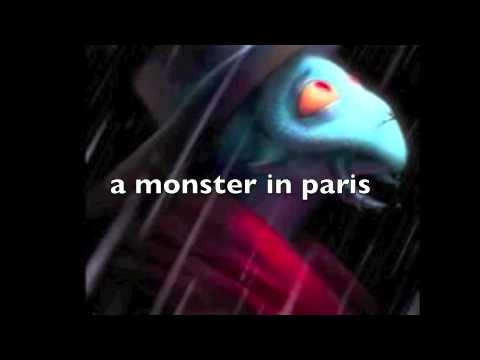 A Monster In Paris -karioke- video