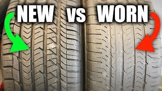 New Tires vs Worn Tires - What Performs Best?