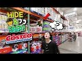 CRAZY HIDE AND SEEK GAME IN COSTCO!!