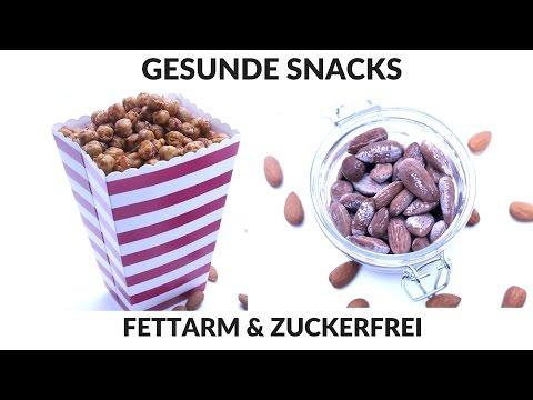 GESUNDE SNACKIDEEN - SNACKS ZUM ABNEHMEN ||ALTERNATIVE ZU CHIPS & POPCORN