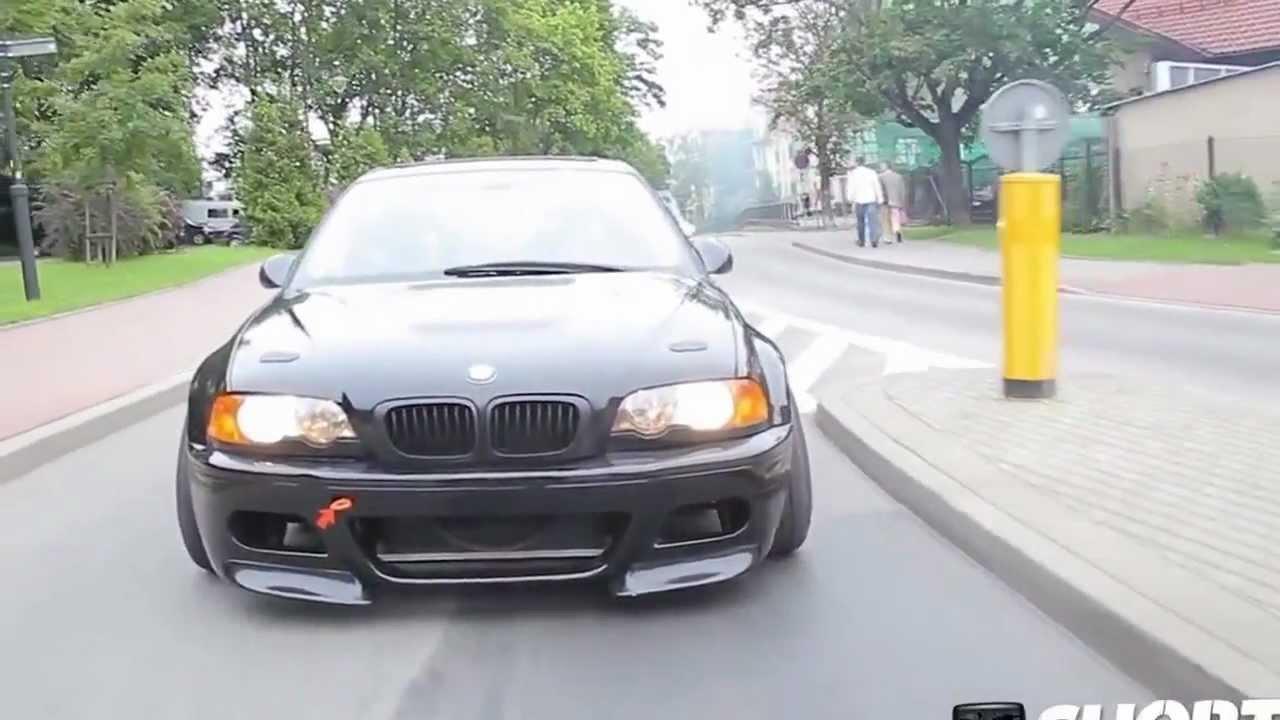 Bmw Drifting Car Bmw E46 m3 Crazy Street Drift