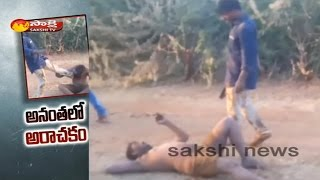 Paritala Follower Brutally Beats on Man in Public || Ananthapur District