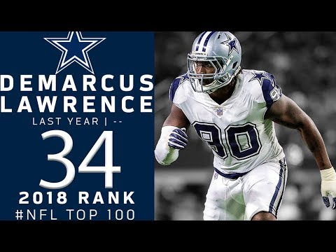 #34: Demarcus Lawrence (DE, Cowboys) | Top 100 Players of 2018 | NFL