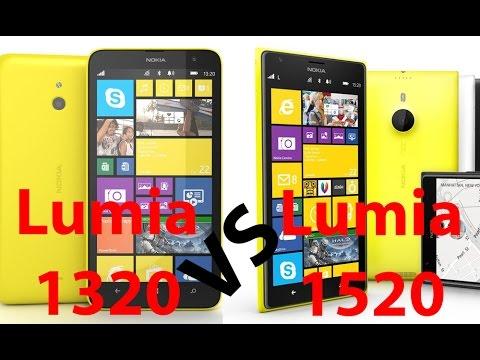 Nokia Lumia 1520 vs Lumia 1320, comparativa (español)