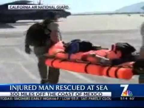 NBC coverage helicopter water rescue Nov. 30, 2012