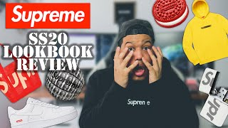 SUPREME SS20 LOOKBOOK REVIEW // FIRE OR TRASH ?