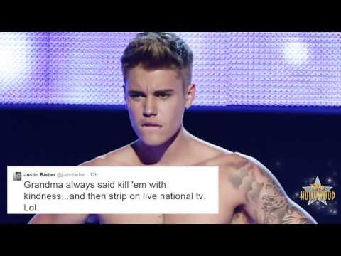 Justin Bieber Abucheado al Desnudarse en Fashion Rocks en VIVO