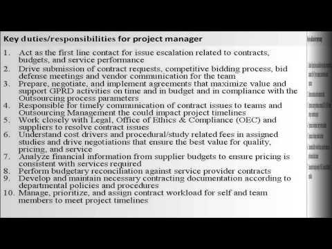Landscape Field Manager Job Description Manager Job Description